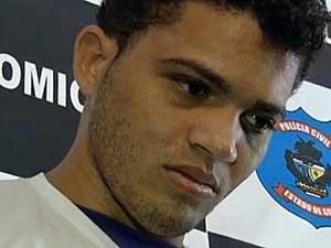 Aparecido de Souza Alves, principal suspeito da morte de 7 pessoas em Doverlândia, estava no helicóptero que caiu em Goiás.  (Foto: Reprodução / TV Anhanguera)