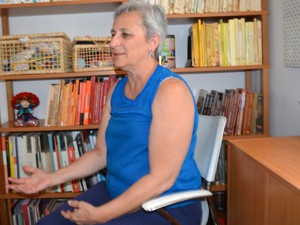 Projetos de auxílio a educação serão afetados pela PEC 241, afirma Ângela (Foto: Arlete Moraes/ G1)