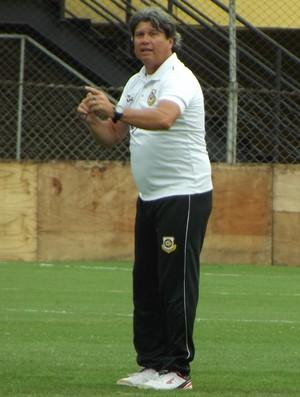 Edson Boaro técnico São Bernardo (Foto: Vitor Alimari/FutPress)