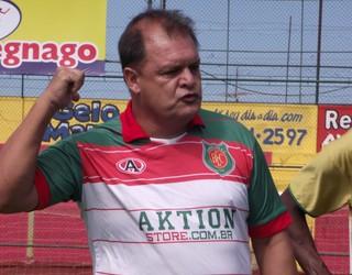 Edson Vieira, Técnico do Barretos (Foto: Roberto José/Barretos Esporte Clube)