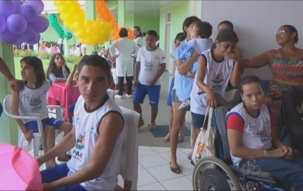 Apae de Cruzeiro do Sul completou 17 anos nesta semana (Foto: Bom Dia Amazônia)