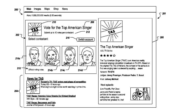 Enquete seria exibida no topo dos resultados de busca (Foto: Reprodução/Google)