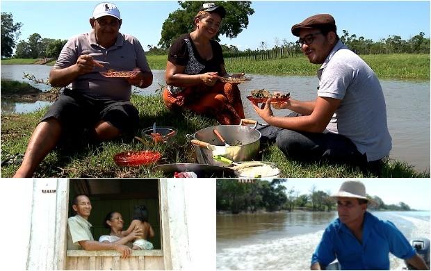No Dia dos Pais, conheça as histórias do homem da Amazônia (Foto: Amazônia Rural)