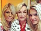Monique Evans publica foto ao lado da mãe e da filha
