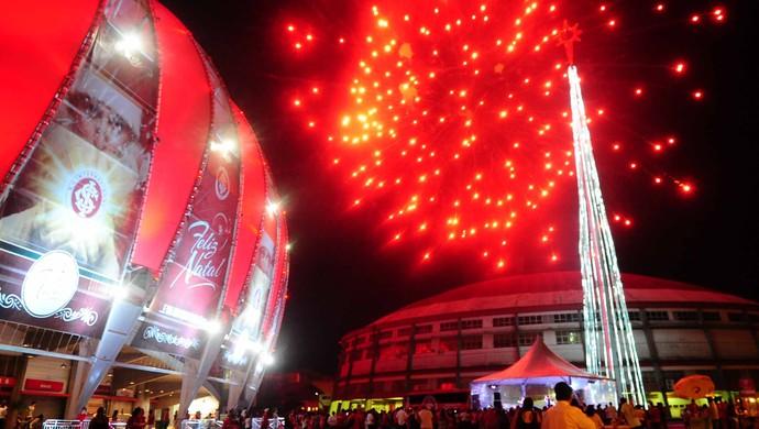 Inter promove festa da Natal no Beira-Rio (Foto: Ricardo Duarte / Inter, DVG)