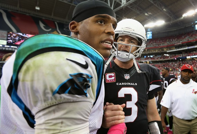 futebol americano Carolina Panthers Arizona Cardinals (Foto: Getty Images)