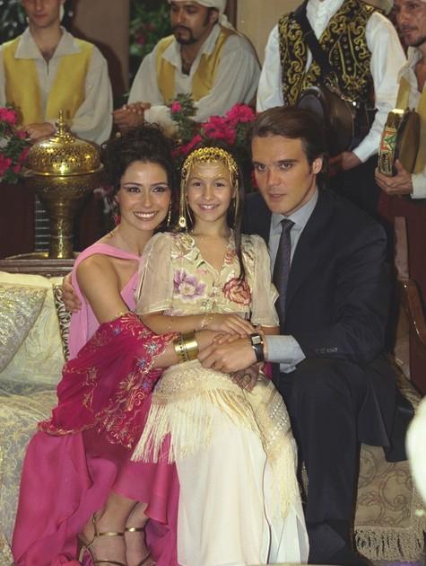 Carla Diaz em 'O clone' (2001) (Foto: TV Globo)