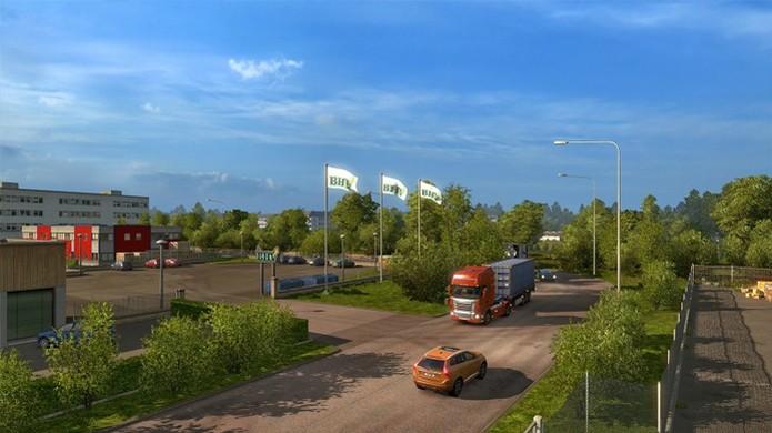 Euro Truck Simulator 2 terá mais reproduções de locais reais no DLC da Escandinávia (Foto: CarGamingBlog) (Foto: Euro Truck Simulator 2 terá mais reproduções de locais reais no DLC da Escandinávia (Foto: CarGamingBlog))