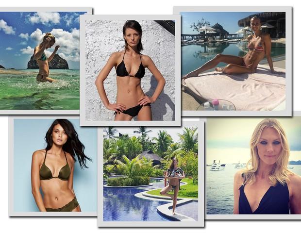 Marcelle Bittar, Flavia Lucini, Renata Kuerten, Shirley Mallmann, Dani Braga, Carol Trentini (Foto: Reprodução/ Instagram)