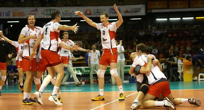 Belogorie campeão mundial interclubes de vôlei masculino (Foto: Divulgação/FIVB)