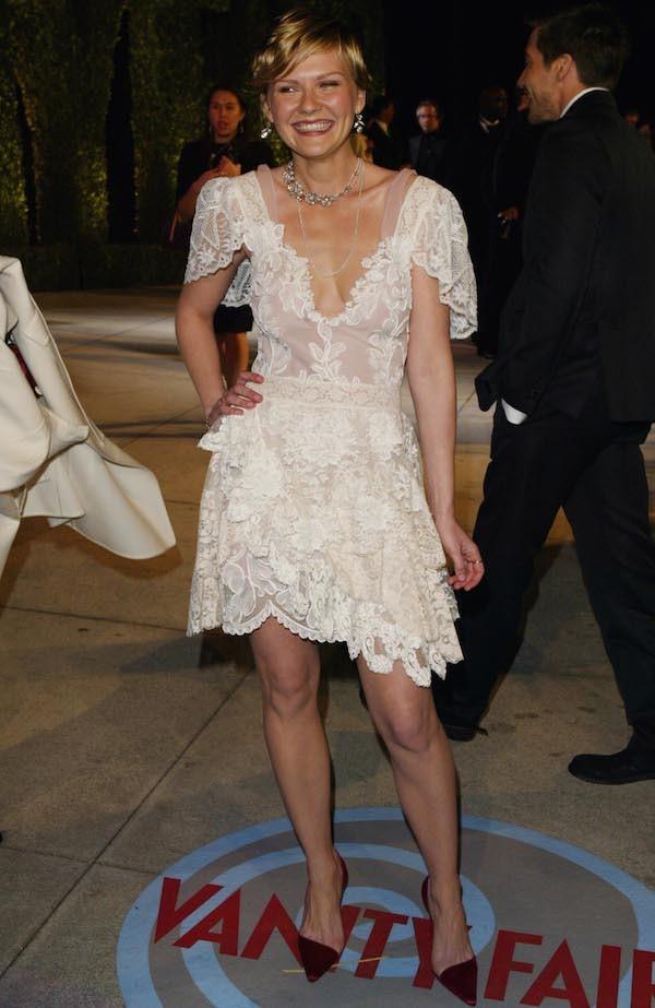 A atriz Kirsten Dunst em 2004 (Foto: Getty Images)