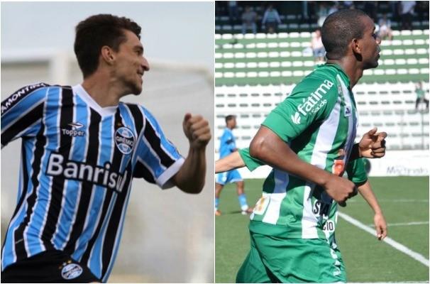 grêmio e Juventude (Foto: Montagem sobre fotos/Divulgação/Grêmio e Juventude)