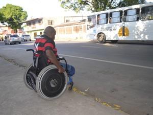 Obras de ruas e prédios de Macapá serão fiscalizadas para gatirem o acesso de cadeirantes (Foto: Dyepeson Martins/G1)
