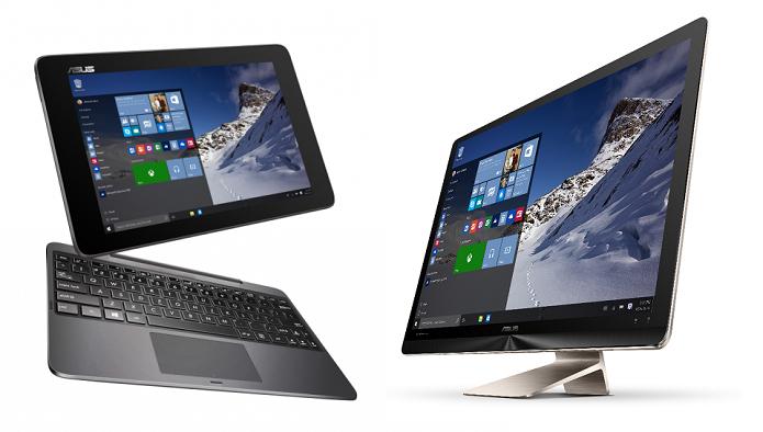 Asus tem tablet e PC com Windows 10 (Foto: Divulgação)