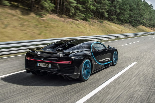 Bugatti Chiron bate recorde de aceleração a 400 km/h (Foto: Divulgação)