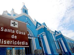 Santa Casa de Misericórdia, em Cuiabá, Mato Grosso. (Foto: Lenine Martins/Secom-MT)