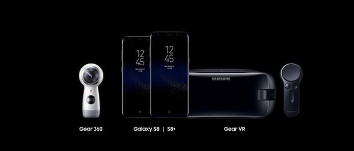 Lançamento Samsung Galaxy S8 - Gear (Foto: Divulgação/Samsung)