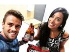Rafael e Talita, do 'BBB15', comemoram dois meses juntos