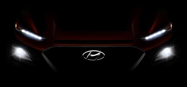 Hyundai Kona em teaser (Foto: Hyundai)