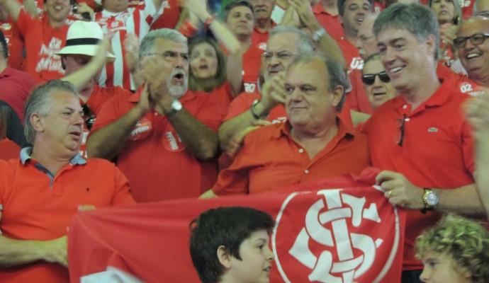 Pedro Affatato Vitorio Piffero Luiz Henrique Nuñez Inter (Foto: Tomás Hammes / GloboEsporte.com)