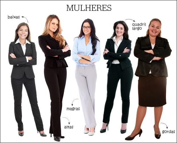 montagem_mulheres_info_roupas (Foto: Natália Durães / Época Online / Shutterstock)