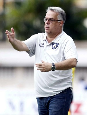Josué Teixeira, técnico do Remo (Foto: Akira Onuma/O Liberal)