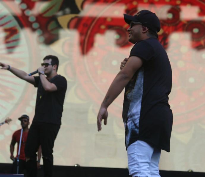 Matheus e Kauan (Foto: Bruno Concha/Ag Haack)