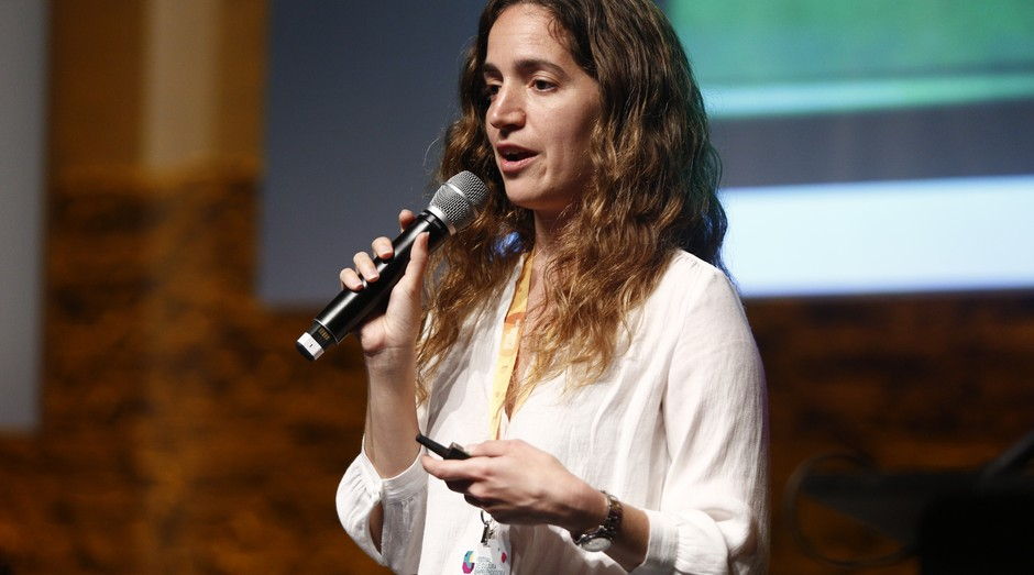 Kerstin Forsberg foi uma das estrelas do Festival de Cultura Empreendedora (Foto: Ricardo Cardoso)