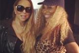 Serena e Wozniacki curtem show e tietam Mariah Carey antes de duelo