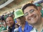 Torcedor do Palmeiras morto após infarto é enterrado em Orlândia, SP