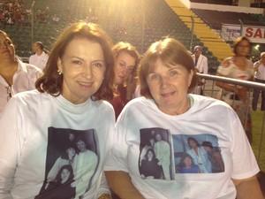 Irmãs assistem ao quinto show de Roberto Carlos (Foto: Géssica Valentini/G1)
