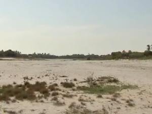 No Ceará, estiagem deixa Lagoa do Banana com 30% de sua capacidade (Foto: Reprodução/TV Verdes Mares)