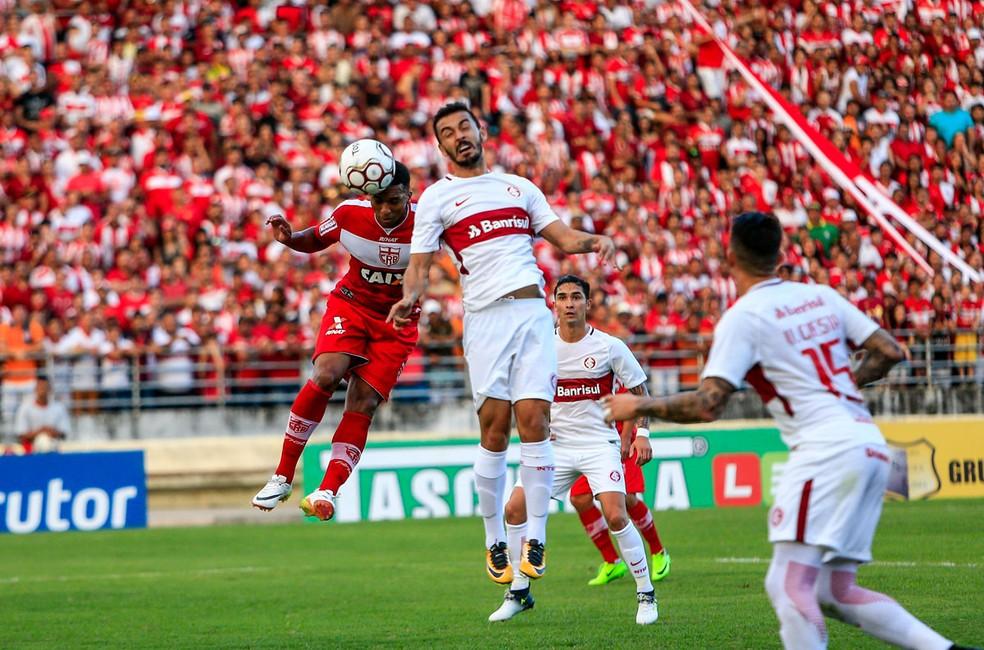 CRB vence o Internacional em Maceió (Foto: Ailton Cruz/Gazeta de Alagoas)