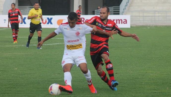 Campinense x América-RN (Foto: Canindé Pereira/Divulgação)