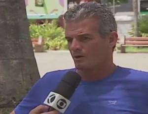 Eugênio Souza técnico CAP Patrocinense Patrocínio (Foto: Reprodução/TV Integração)