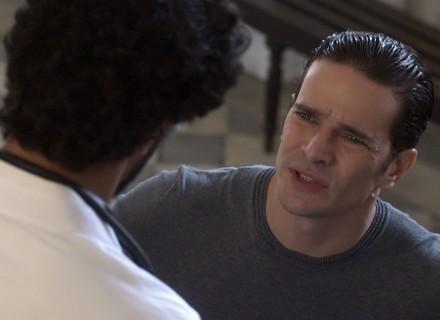 Vitor teme doar sangue para Lucas