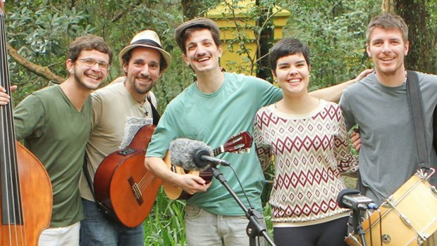 Grupo apresenta ritmos da cultura brasileira (Foto: Divulgação)