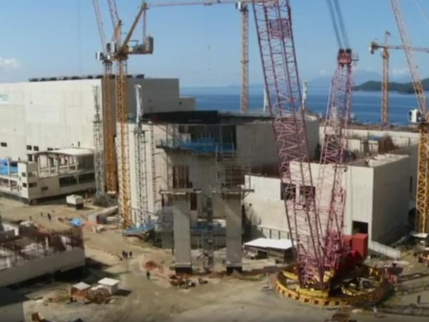 Ex-dirigentes da Eletronuclear e ex-executivos da Andrade Gutierrez e Engevix são denunciados por corrupção e lavagem em obras em Angra 3 (Foto: Reprodução / TV Globo)