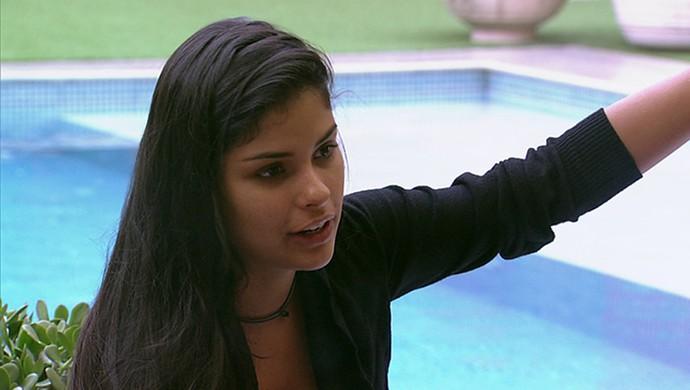 Munik decide que não vai dar mais moral para Renan (Foto: TV Globo)