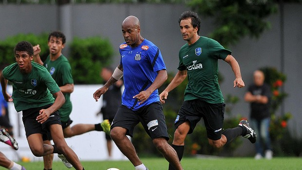 Marcos Assunção (Foto: Ivan Storti / Divulgação Santos FC)