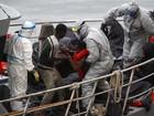 Mais de 80 imigrantes ilegais são resgatados em bote em Malta