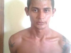 Wesley Albuquerque foi preso por roubo em Pacaraima (Foto: Divulgação/Polícia Civil)