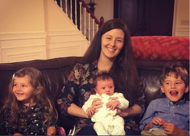 Família reunida: Alice, Kristen, Belle e Jack (Foto: Reprodução Instagram)