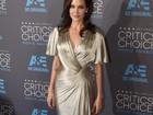 Jolie, Aniston... Veja o estilo das famosas em premiação