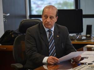 Reunião de parlamentares da oposição com presidente do TCU, Augusto Nardes (Foto: Fabio Rodrigues Pozzebom/Agência Brasil)