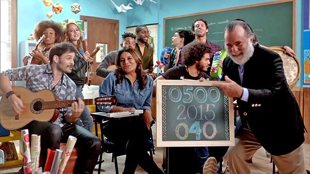 Criança Esperança é um projeto da Rede Globo em parceria com a Unesco (Foto: reprodução TV Globo)