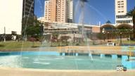 Chafarizes do centro de Londrina vão voltar a funcionar segundo a prefeitura