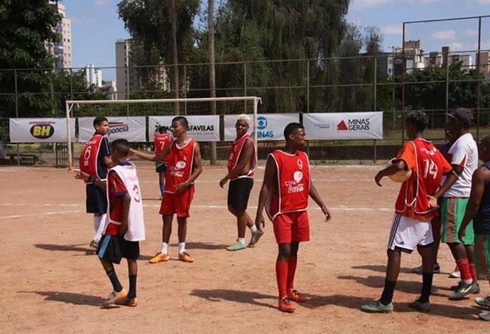 Taça das Favelas Minas começa neste sábado com oito jogos ma Barragem Santa Lúcia (Foto: Divulgação/CUFA)