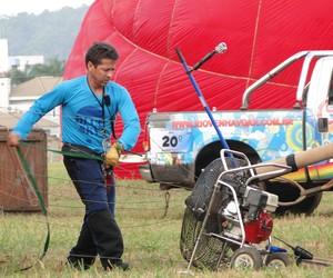 Lupércio Lima, tricampeão brasileiro de balonismo (Foto: Divulgação)