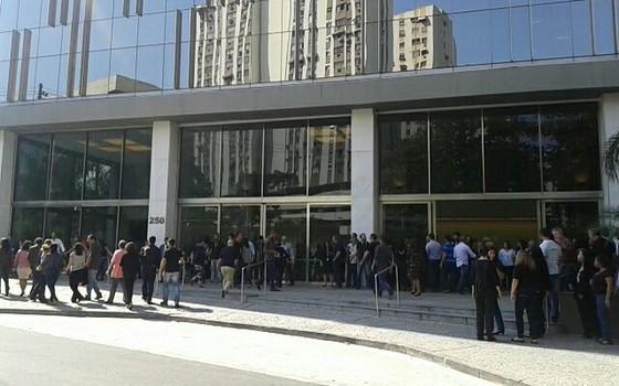 Sede da BR distribuidora no Rio de Janeiro  (Foto: Samantha Lima)